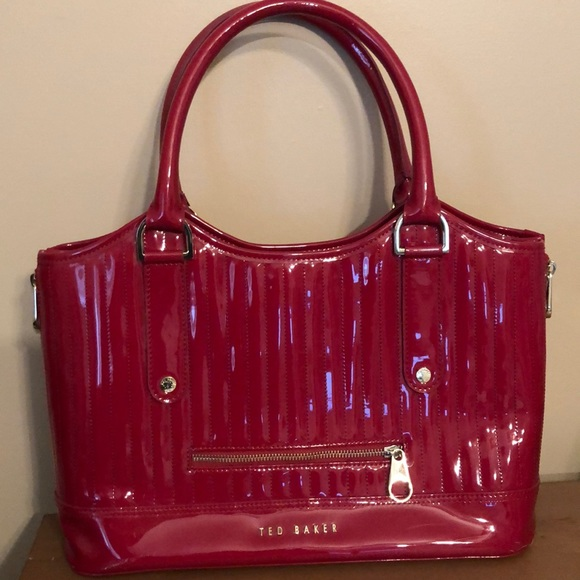 9ac72532449f Ted Baker Large Raspberry Quilted Tote Bag. M 5cb8e867adb58dac53e5403a